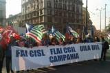 """Cgil, Tavella: """"Non vengono meno ragioni sciopero Campania"""""""
