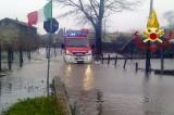 Maltempo: acqua alta a Celzi, famiglie evacuate
