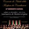 Concerto di Natale della Fanfara dei Carabinieri, sabato 20 Dicembre a Montevergine