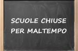 Allerta meteo: scuole chiuse ad Ariano Irpino