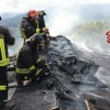 Montemiletto – Grave incendio colpisce abitazione di tre piani
