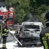 Paura sul raccordo AV – SA, auto in fiamme