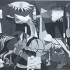 """Ariano Irpino – Il Ruggero II """"reinterpreta"""" Guernica di Picasso con un progetto di pitto – scultura"""