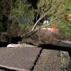 Teora – Crolla un ponte, intervengono i Vigili del Fuoco