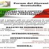 """Grottolella – """"Diritto pubblico e costituzionale"""", il tema del workshop organizzato dal Forum dei giovani"""
