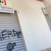 Avellino – Imbrattata la serranda del Circolo Libertà è Partecipazione