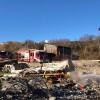 Gesualdo – Intervento dei Vigili del Fuoco per lo scoppio in un deposito di fuochi d'artificio