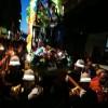 Avellino – La Polizia Municipale culla la statua di Santa Rita