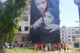 """Street art, da rione Luzzatti a rione dei murales nel quartiere de """"L'amica Geniale"""""""