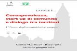 """Al via il primo """"Forum degli amministratori campani"""""""