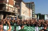 Avellino – Tifosi di calcio e basket riuniti alla manifestazione in Piazza Libertà