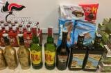 Avellino – Sorpresi in possesso di alcoolici e alimentari di dubbia provenienza