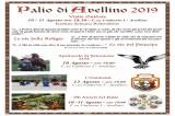 """Avellino – Al via il corteo storico e la gara del """"Palio dei bambini"""""""