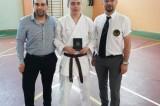 Antonio Gambale, cintura nera di karate