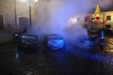 Montemiletto – Incendio in piazza Umberto