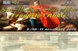 A Fragneto l'Abate pizza, alici e vino per San Martino