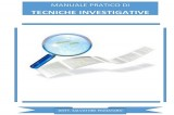 """A breve il """"Manuale pratico di tecniche investigative e criminologia investigativa"""""""