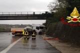 Montemiletto –  Incidente stradale sull'A16 Napoli – Canosa