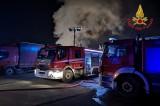 Avellino – Vigili del Fuoco intervengono per un incendio