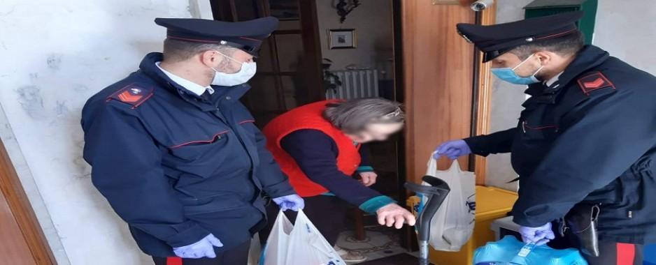 Montemiletto – Anziana sola e senza cibo assistita dai Carabinieri
