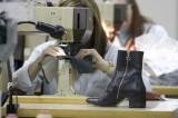 Industria calzaturiera: nel primo trimestre in Campania le esportazioni calano del -19,1%
