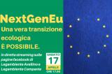 Legambiente Avellino: l'approfondimento online sul NextgenEU