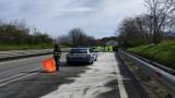 Cisterna in fiamme sulla Ofantina: interviene la Polstrada