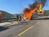 VdF Avellino, intervento sull'autostrada A16 Napoli – Canosa