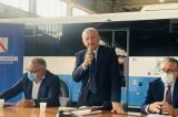 """De Luca ad Avellino per dare il benvenuto ai nuovi assunti Air: """"In Campania una rivoluzione"""""""