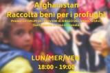 Aiello del Sabato – Raccolta beni per i profughi afghani