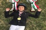 Campionato nazionale equestre, vince l'avellinese Milena Bianco