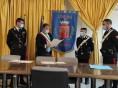 Sperone, il sindaco Alaia conferisce un encomio a due carabinieri