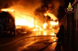 Montefredane (AV), incendio Bacotrans: Probabile la natura dolosa