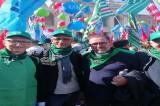 """Manifestazione """"Mai più fascismi, anche la CISL FP IrpiniaSannio in Piazza a Roma"""