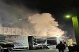 Incendio Montefredane, intervento Arpac per valutare effetti ambientali