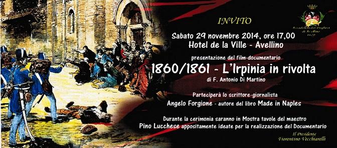 Avellino 1860 1861 Documentario Sull Irpinia In