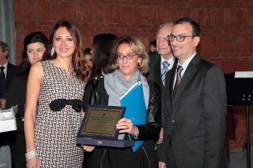 2- da sinistra Teresa Lombardo, Gemma Tuccillo, Edouard mancini e Gianfranco Marcello