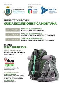 Locandina WEB Corso Guida Escursionistica Monttana