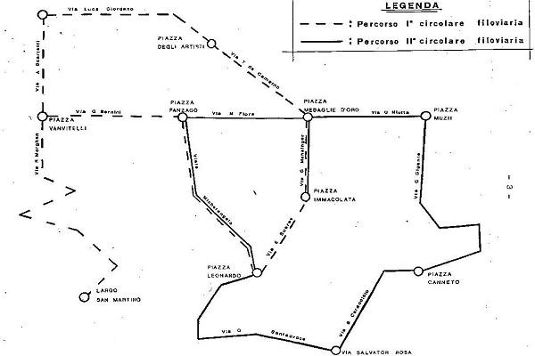 Circolari filoviarie al Vomero