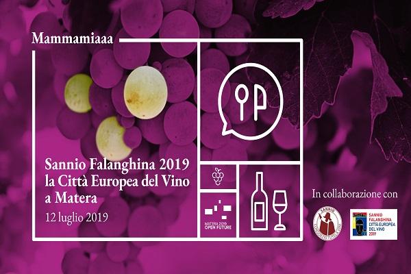 Sannio Falaghina 2019 a Matera-min