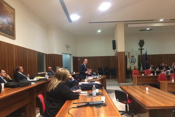 Luca Cipriano consiglio comunale 131119