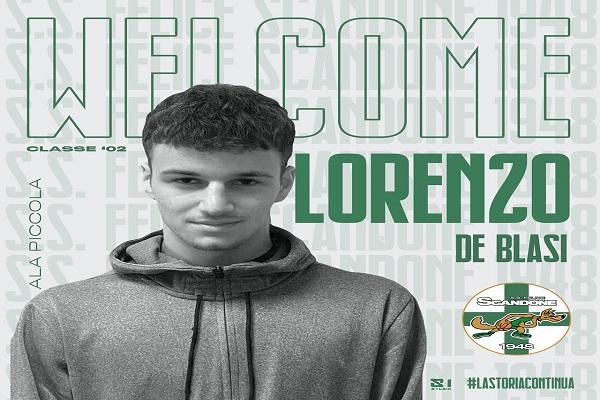 Welcome Lorenzo De Blasi (1)