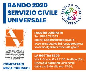banner SELEZIONE BANDO SCU AGORA\\\' 2020
